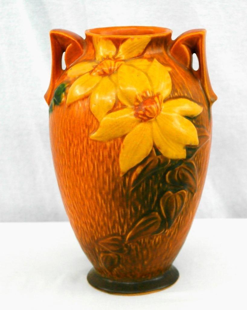 Roseville Clematis Vase - 3