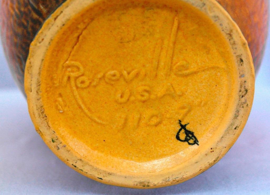 Roseville Clematis Vase - 5