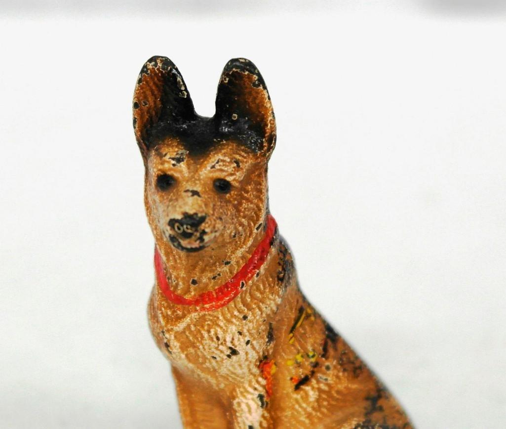 Vintage Hubley German Shepherd Paperweight/Figurine - 2