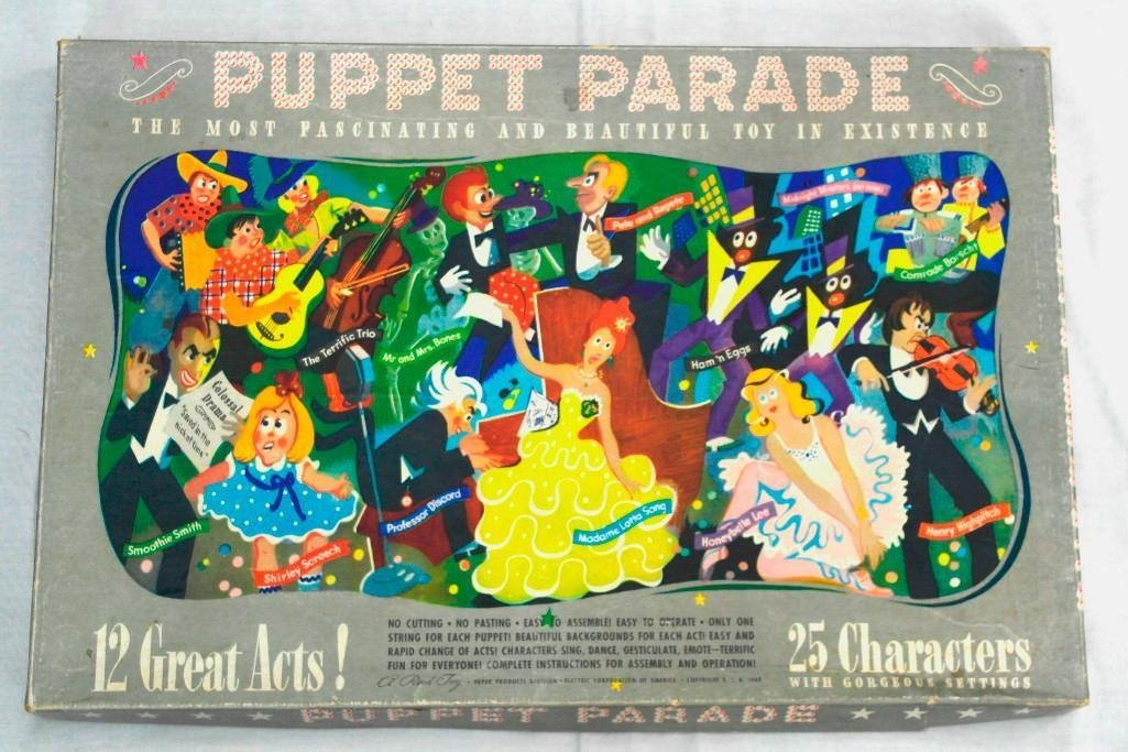 "Un-Cut - The Puppet Parade "" The Most Fascinating And"