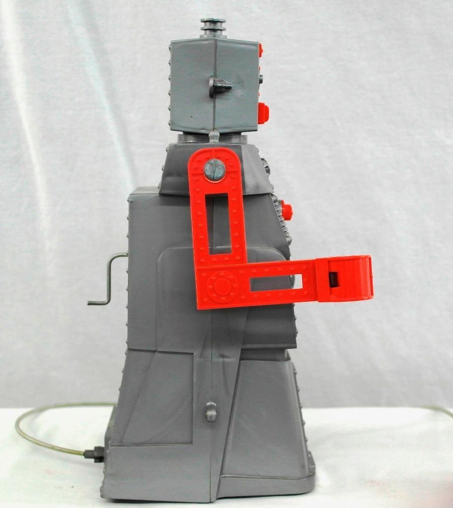 """1950's """"Robert The Robot"""" Remote Control Robot With - 4"""