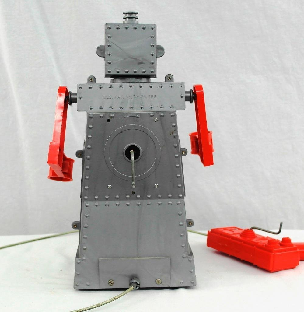 """1950's """"Robert The Robot"""" Remote Control Robot With - 5"""