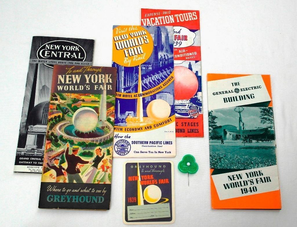 Miscellaneous New York World's Fair Items