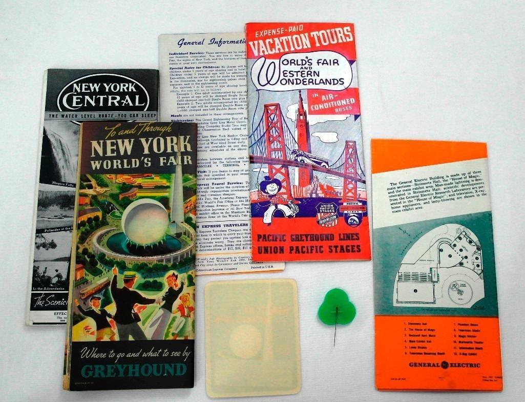 Miscellaneous New York World's Fair Items - 2