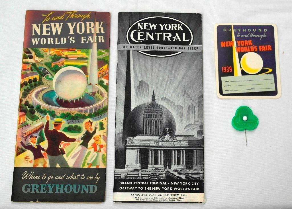 Miscellaneous New York World's Fair Items - 3