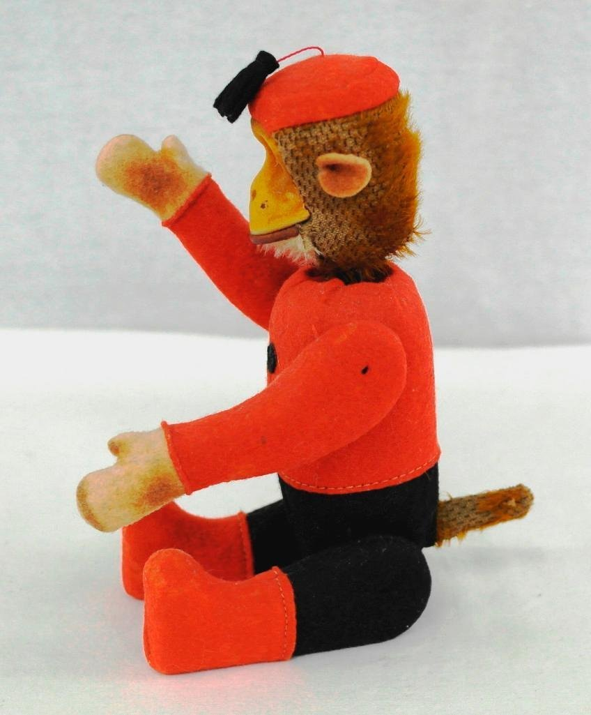 1920's Schuco Yes-No Monkey With Moveable Joints - 2