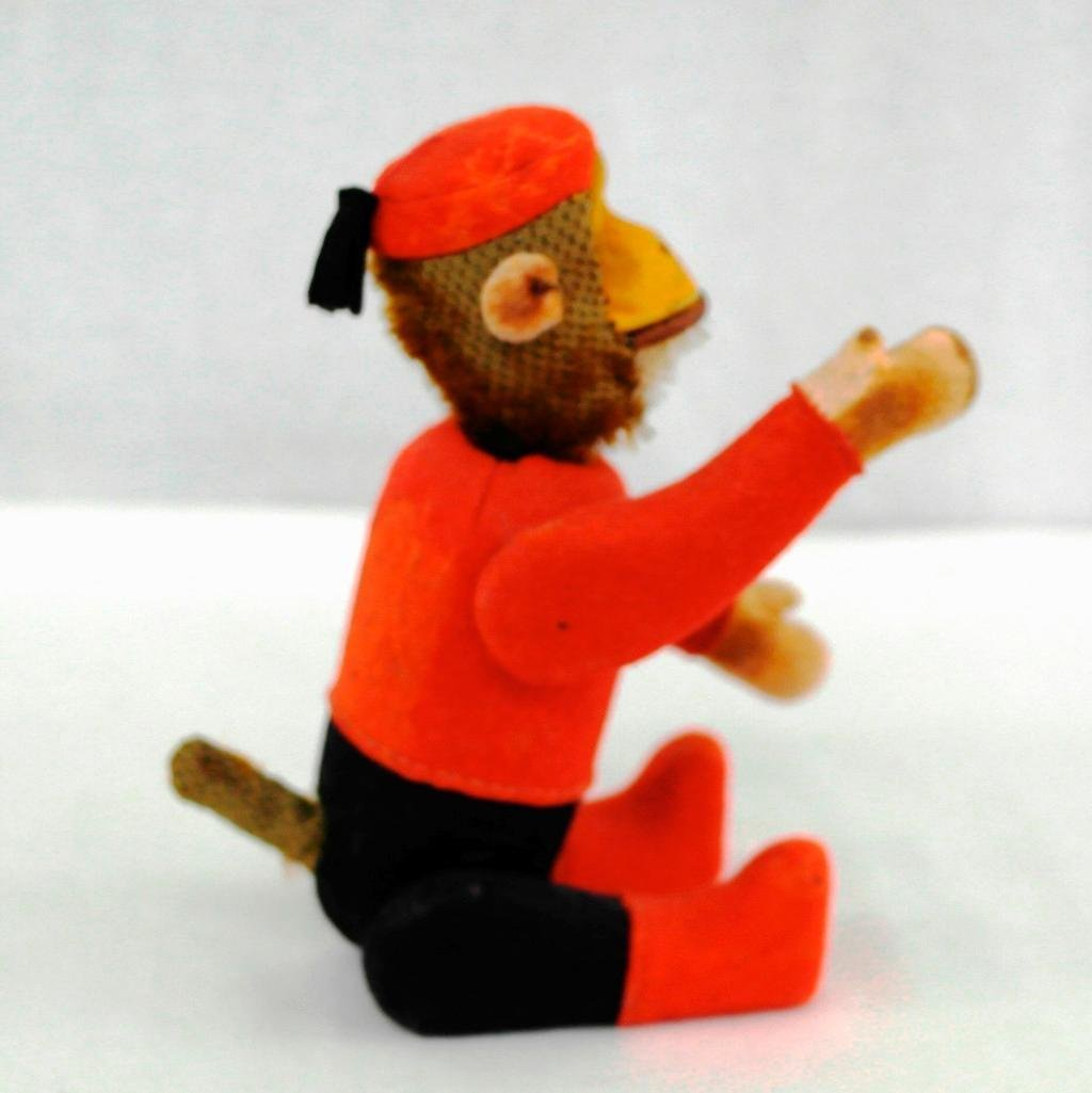 1920's Schuco Yes-No Monkey With Moveable Joints - 4