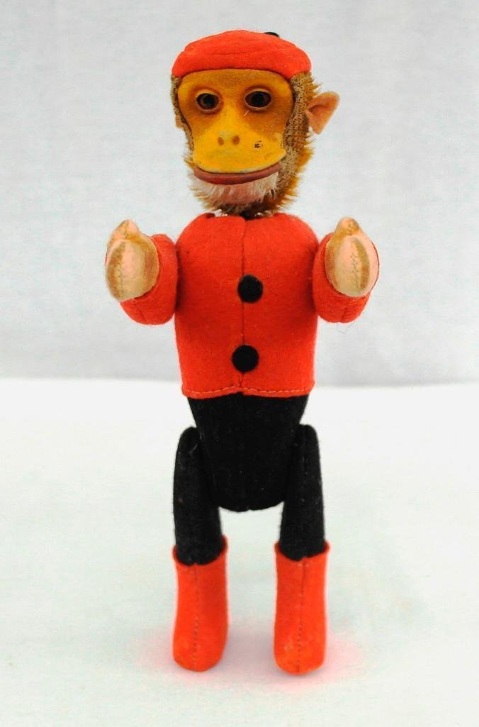 1920's Schuco Yes-No Monkey With Moveable Joints - 5