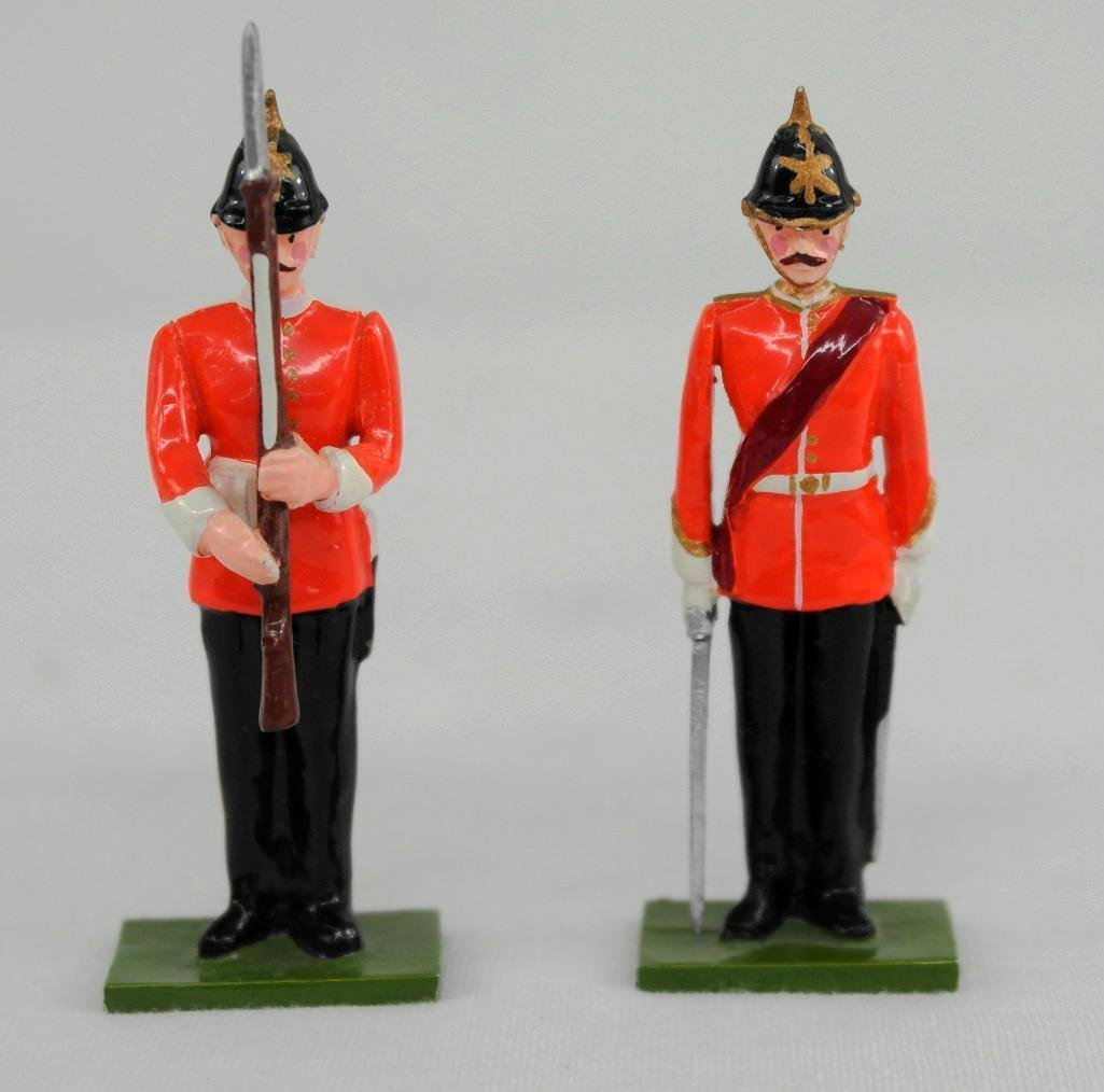 Steadfast Soldiers Set No. 57, Sentry And Box - 4
