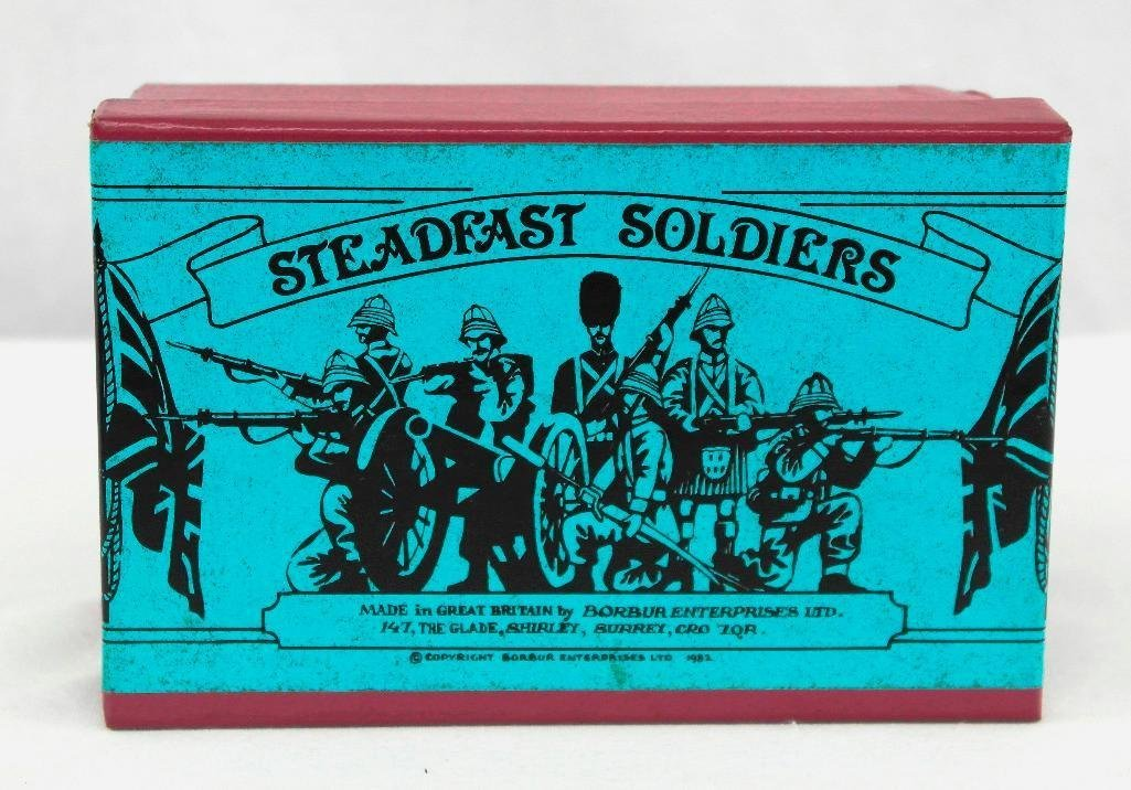 Steadfast Soldiers Set No. 57, Sentry And Box - 5