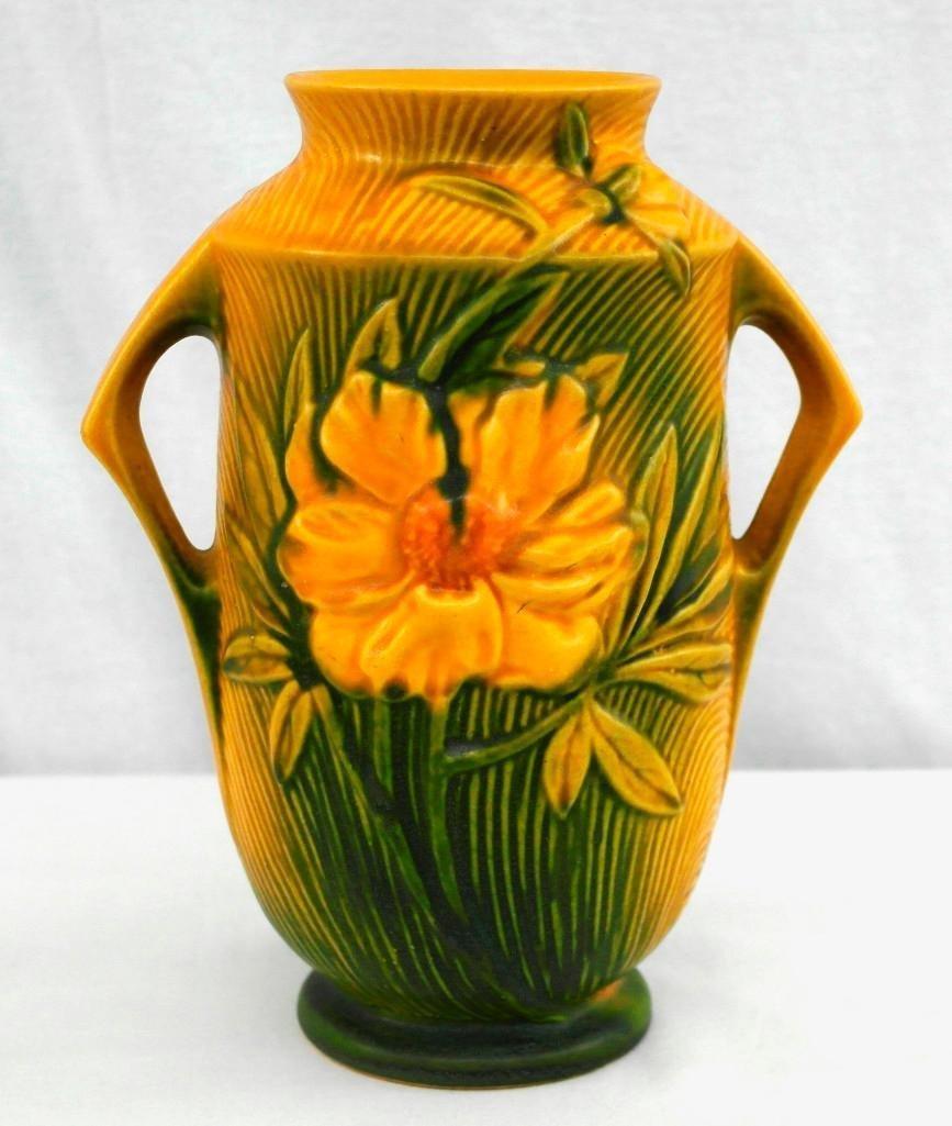 Roseville Medium / Large Peony Vase
