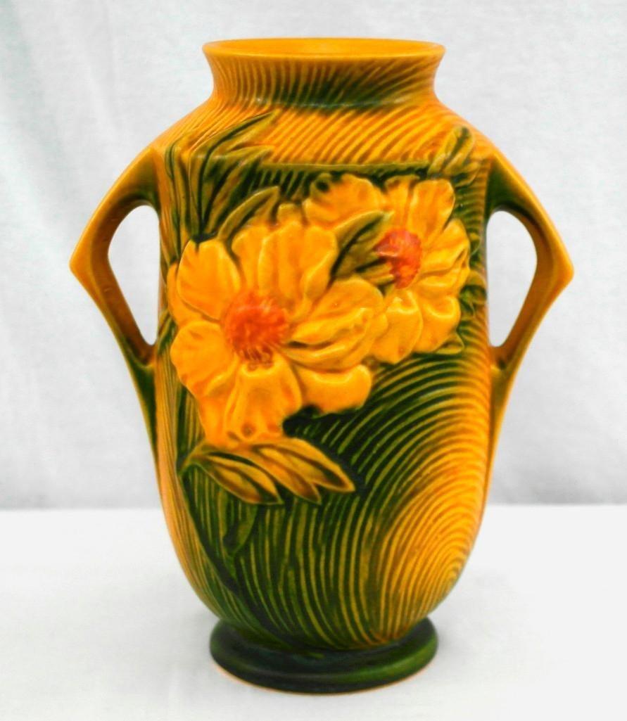 Roseville Medium / Large Peony Vase - 3