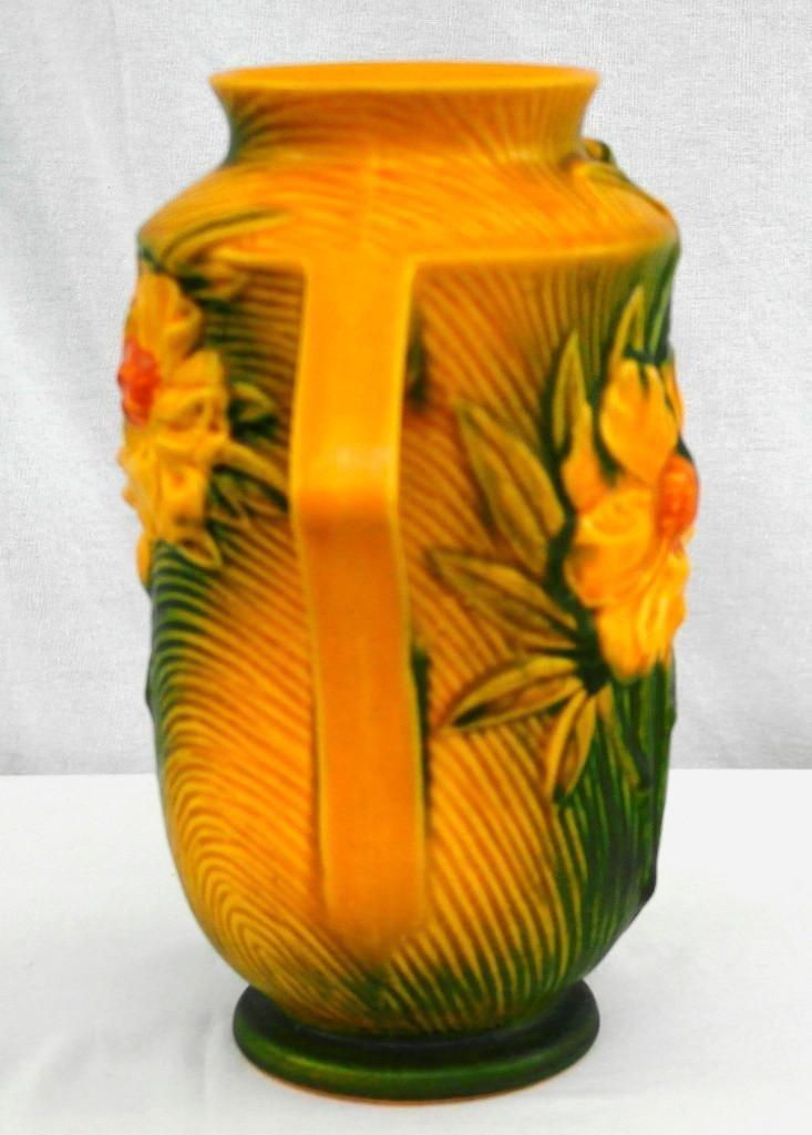 Roseville Medium / Large Peony Vase - 4