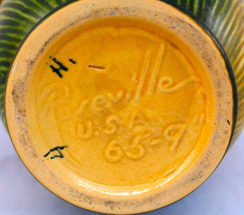 Roseville Medium / Large Peony Vase - 5