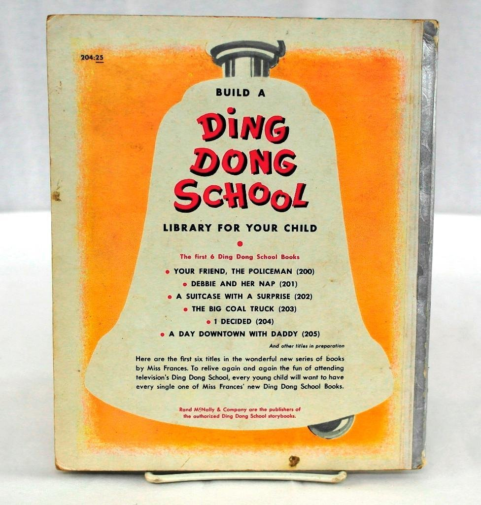 Vintage Ding Dong School RCA Slide-O-Matic Record - 10