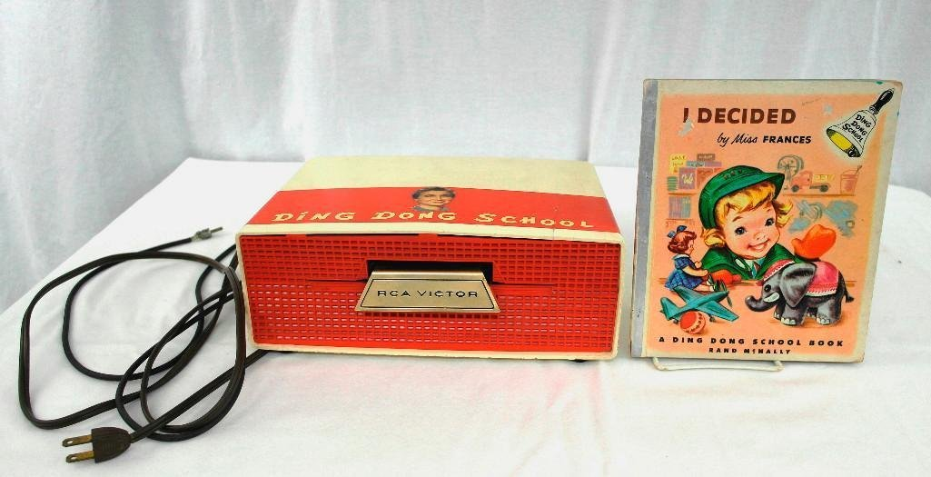 Vintage Ding Dong School RCA Slide-O-Matic Record