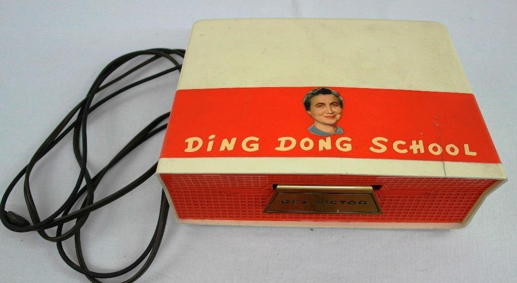 Vintage Ding Dong School RCA Slide-O-Matic Record - 2