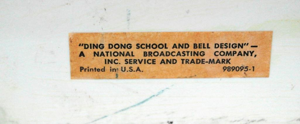 Vintage Ding Dong School RCA Slide-O-Matic Record - 8