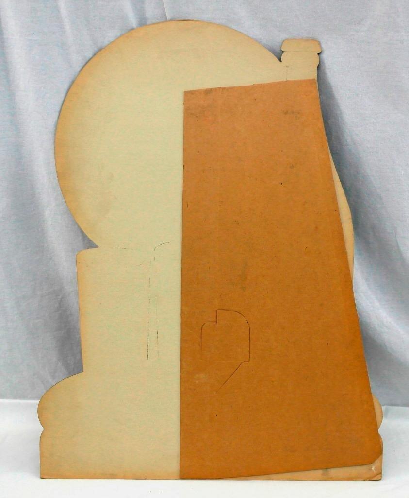 Vintage Dixie Spring Beverages Easel Back Cardboard - 4