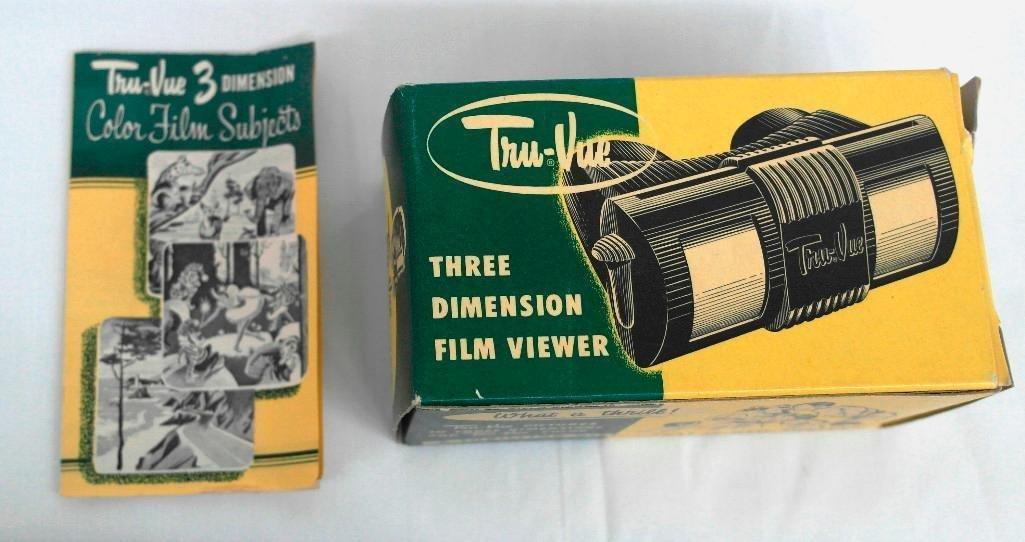Tru-Vue Viewer With Film - 8