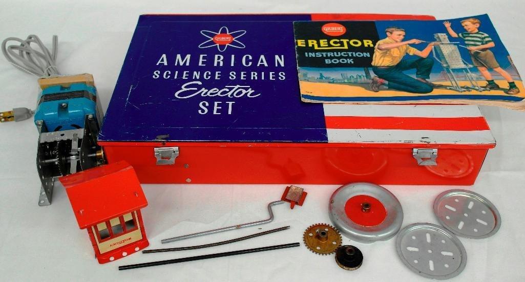 Gilbert Erector Set American Science Series No. 10055