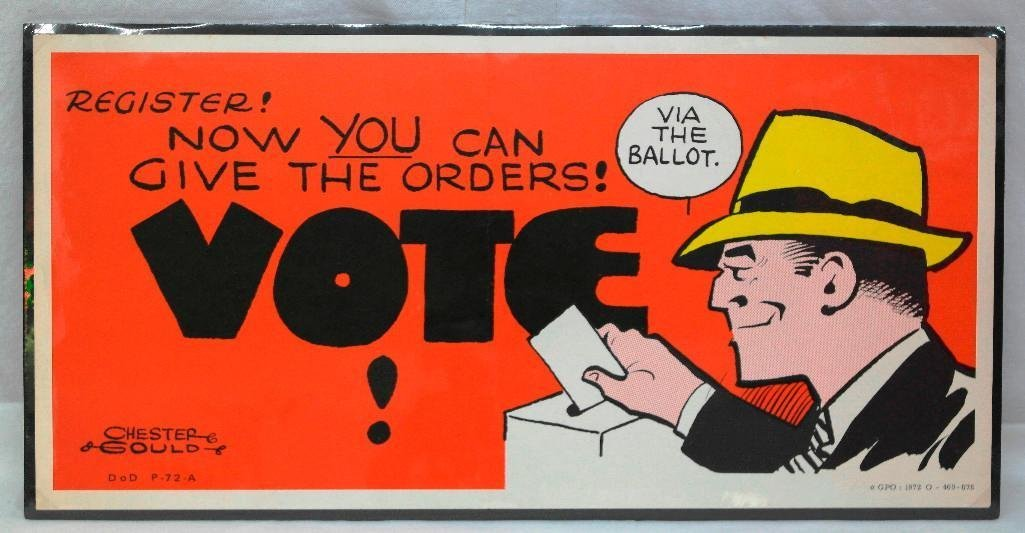 2 1970's Voting Posters - 2