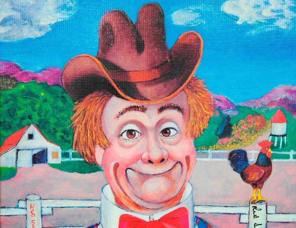 Red Skelton Lithograph - Sunday Afternoon - 3