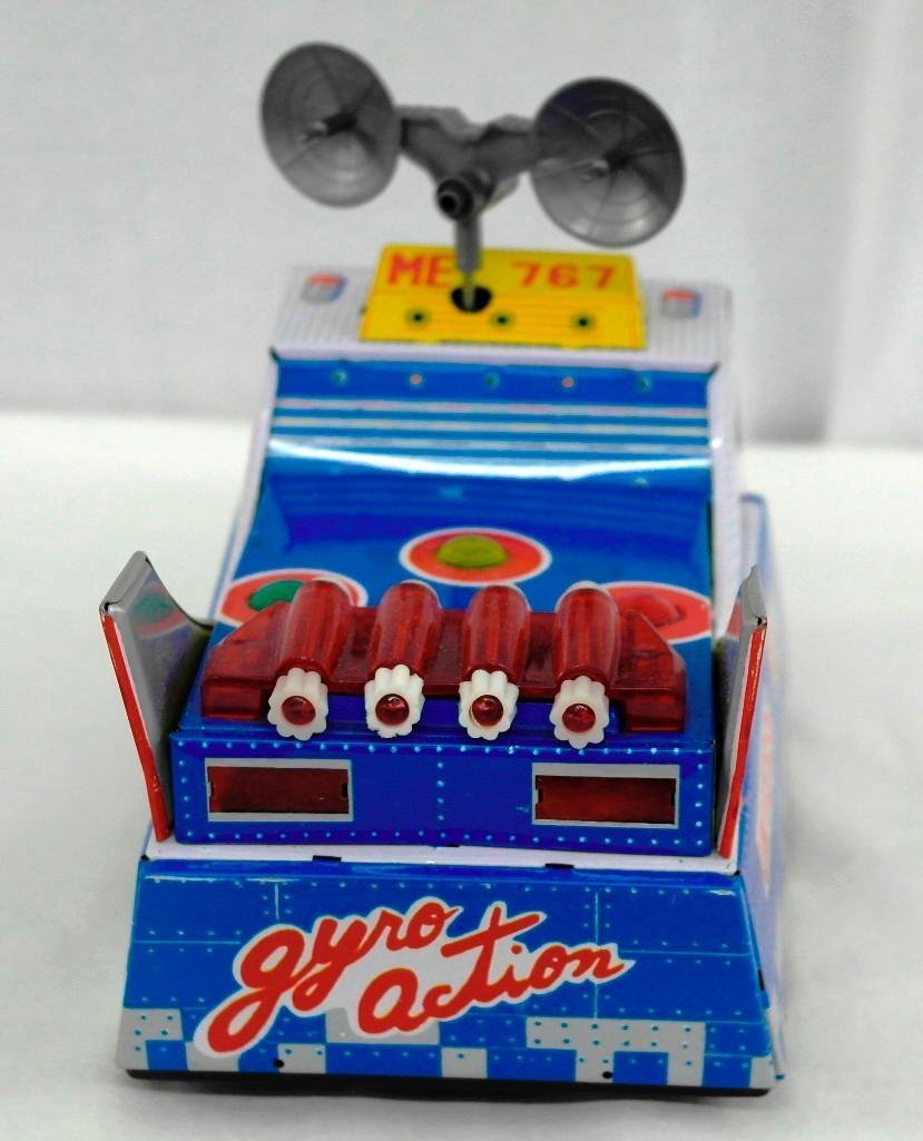 "Vintage Tin Litho Toy ""Universe Boat"" - 5"