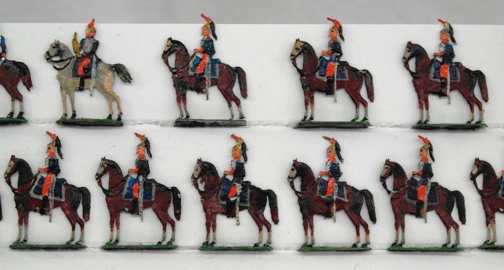 Set of 14 Heinrischen Mounted Soldiers - 2