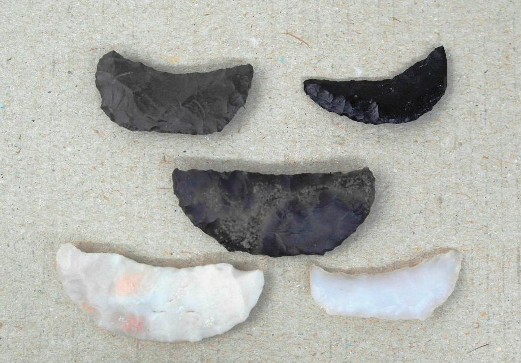 5 Paleo Crescents From Alvord Desert - 2