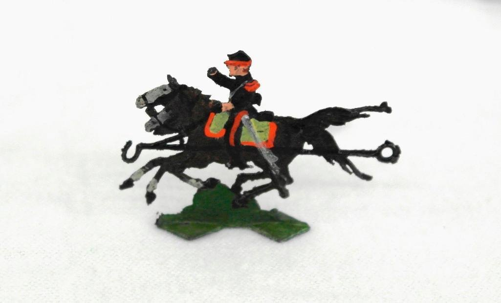 Set Of 8 Heinrischen Two Horse Artillery Teams - 3