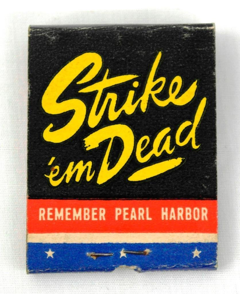 2 Full Feature WWII Matchbooks - 5