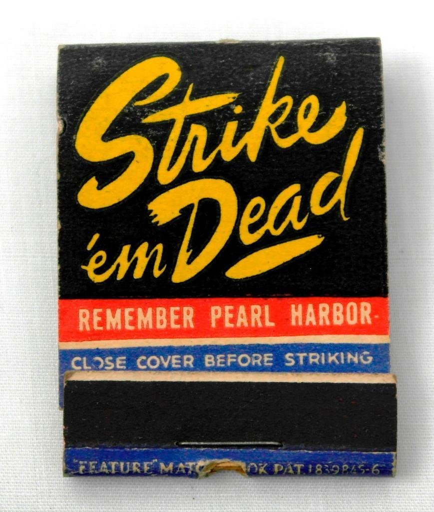 2 Full Feature WWII Matchbooks - 6