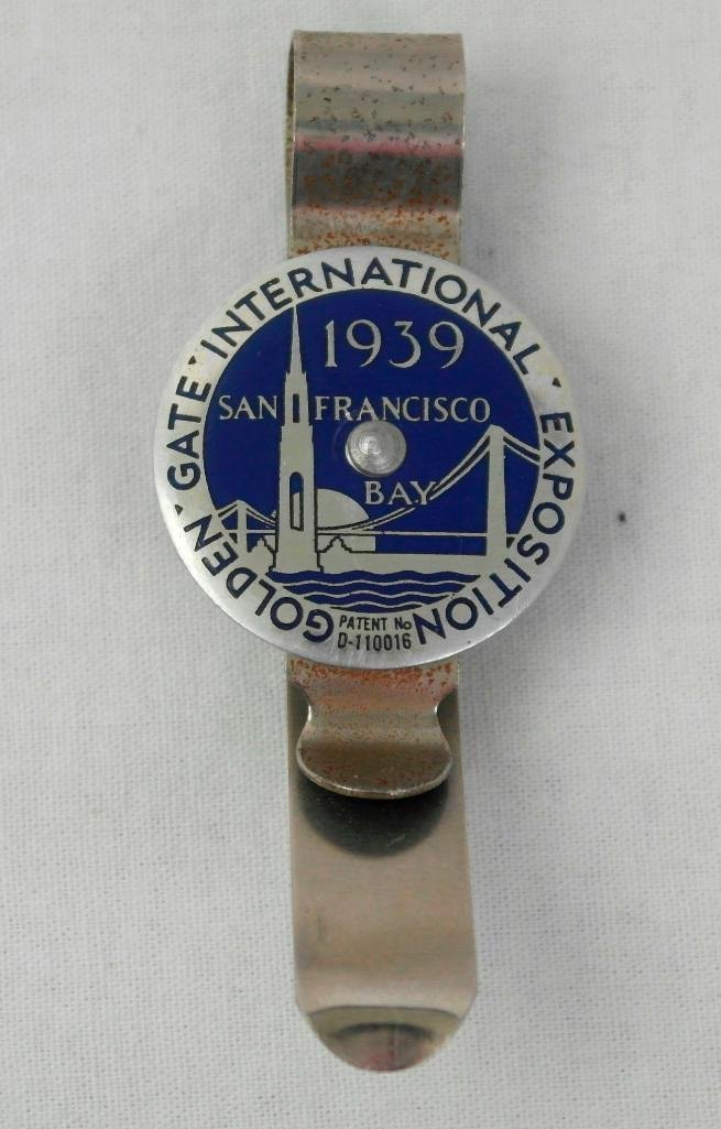 2 1939 Golden Gate Expo Souvenir Items - 2