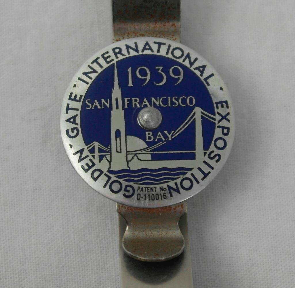 2 1939 Golden Gate Expo Souvenir Items - 3