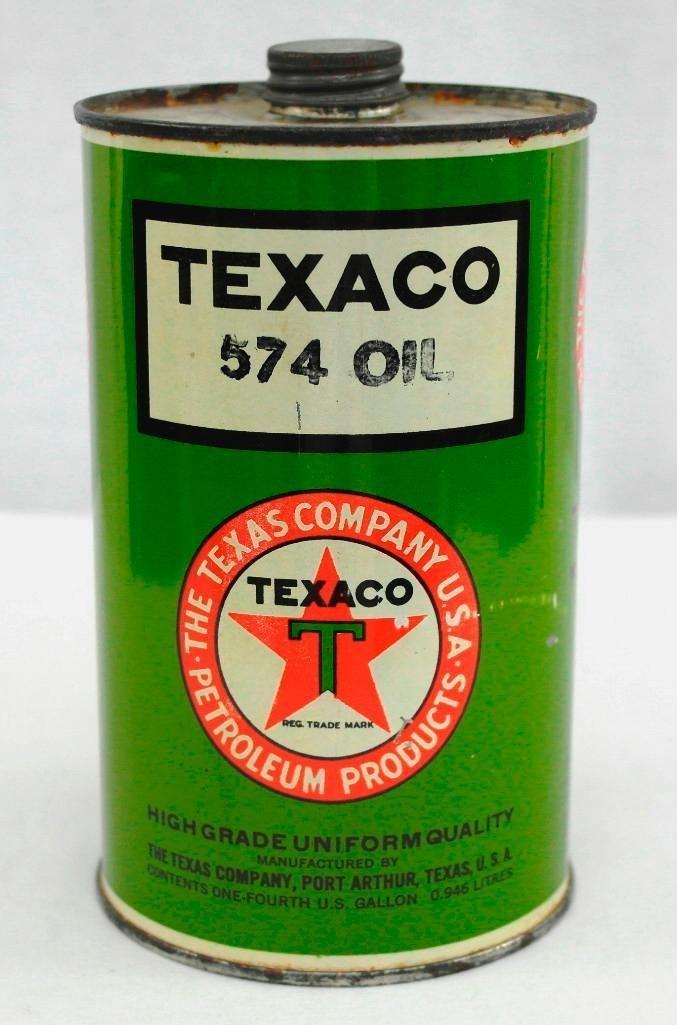Texaco 1 Quart OIl Can