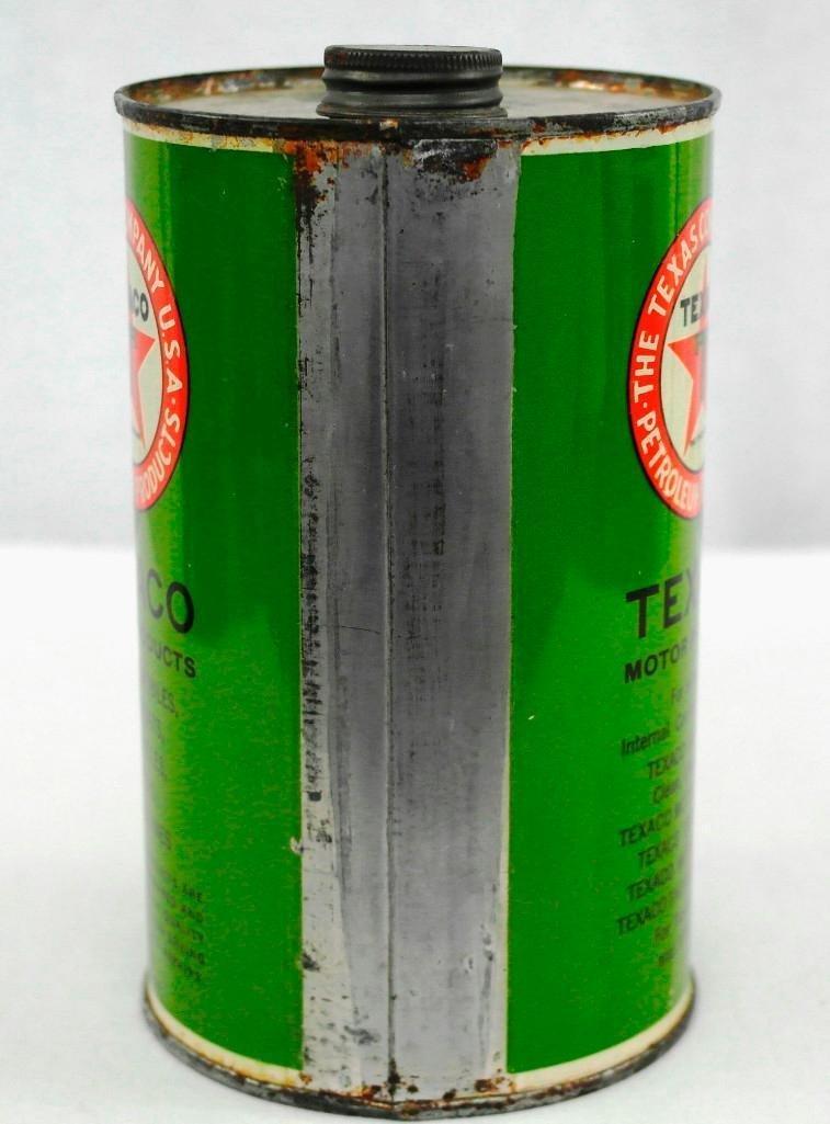 Texaco 1 Quart OIl Can - 3
