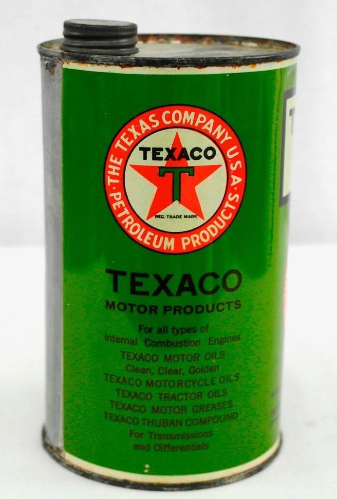 Texaco 1 Quart OIl Can - 4