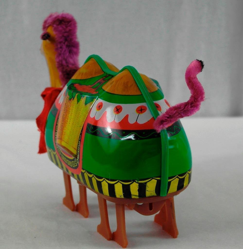 2 Tin Litho Toys - Two-Humped Camel And A 'Push And Go - 5