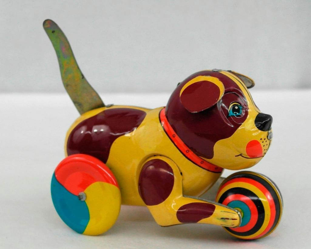 2 Tin Litho Toys - Two-Humped Camel And A 'Push And Go - 6