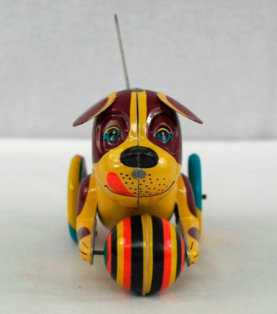 2 Tin Litho Toys - Two-Humped Camel And A 'Push And Go - 7