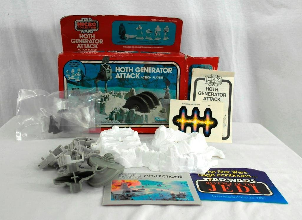 Vintage Star Wars Kenner Mico Collection Playset Hoth