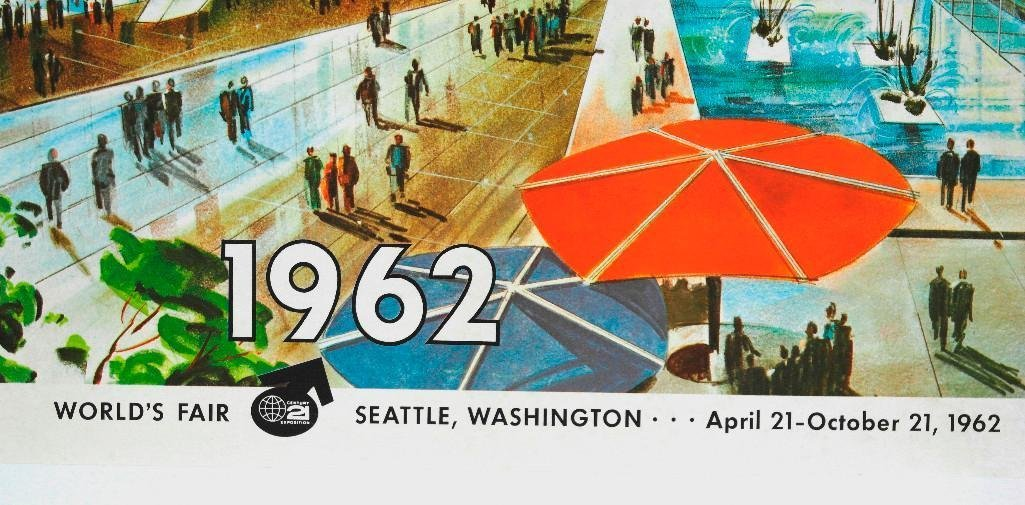 Northern Pacific Railroad Poster Featuring Seattle - 4