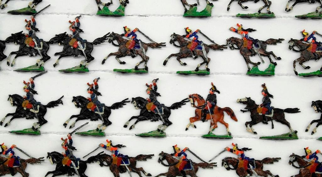 Set of 37 Heinrischen French Mounted Calvary Soldiers - 2