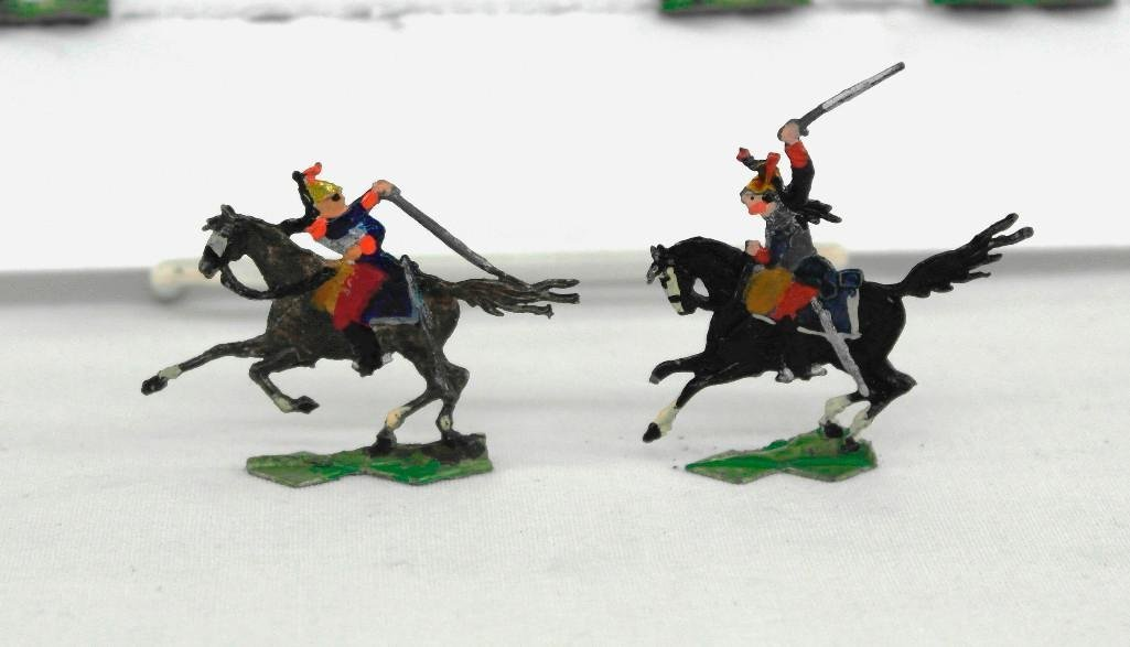 Set of 37 Heinrischen French Mounted Calvary Soldiers - 3
