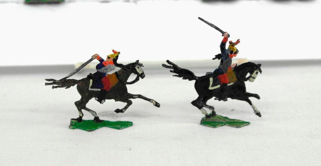 Set of 37 Heinrischen French Mounted Calvary Soldiers - 4