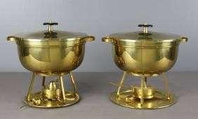 Two Dorlyn Silversmiths for Tommy Parzinger