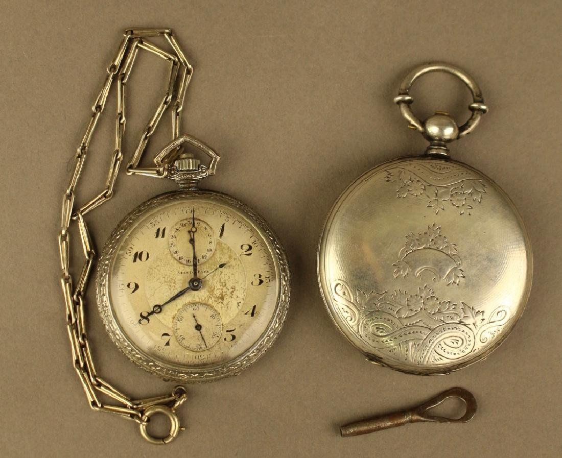 Two Silver Pocket Watches