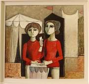 Lucio Ranucci, Italian b. 1924 Oil on Canvas
