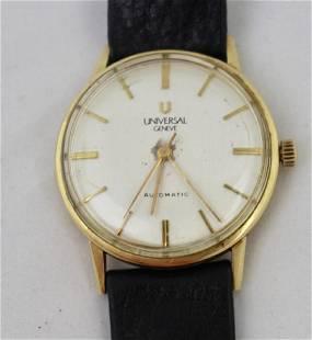 Universal Geneve 14K Gold Watch